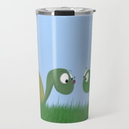 Ellie and Ollie, and Their New Friend Travel Mug