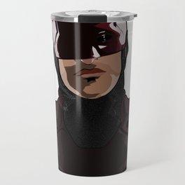 Devil's Smirk Travel Mug