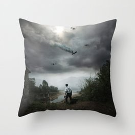 Discovering Grace Throw Pillow