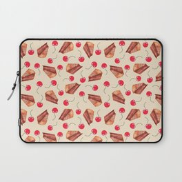 cherries & cakes-cornsilk Laptop Sleeve