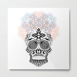 Mexican catrina Metal Print