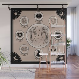 Witch Accessories Wall Mural