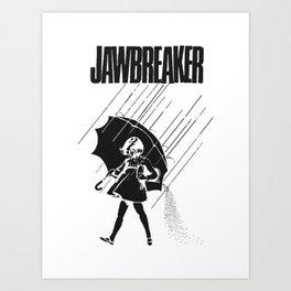 Jawbreaker Girl with umbrella Art Print