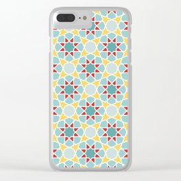 Arabesque IV Clear iPhone Case