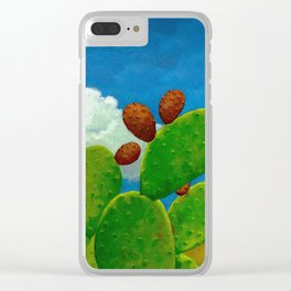 Nopal Clear iPhone Case