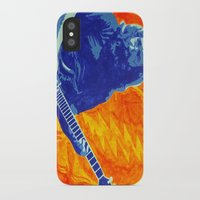 grateful dead iPhone & iPod Cases featuring Jerry Garcia - The Grateful Dead by Tipsy Monkey