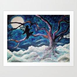 Fairy in the Night Art Print