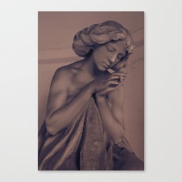 Silent Prayer Canvas Print