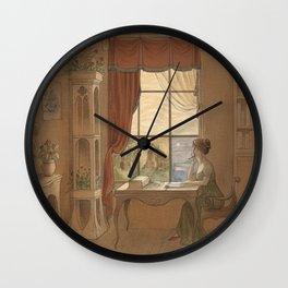 Jane Austen, Mansfield Park - the East Room Wall Clock