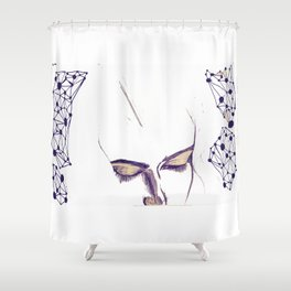 Daydreaming Shower Curtain