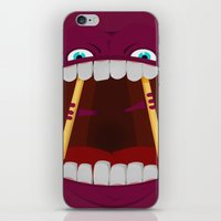 mouth iPhone & iPod Skins featuring Mouth by Alex Tim