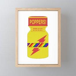 Rainbow poppers LGBT GAY PRIDE MONTH Framed Mini Art Print