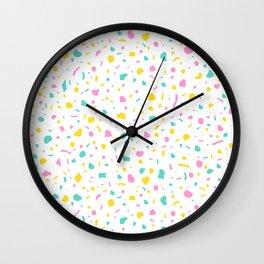 Tropic Terrazzo Wall Clock