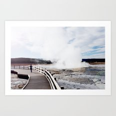 Yellowstone National Park 1 Art Print