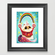 Donut Power! Framed Art Print