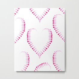 Love pattern #society6 Metal Print