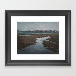 Run Off Framed Art Print