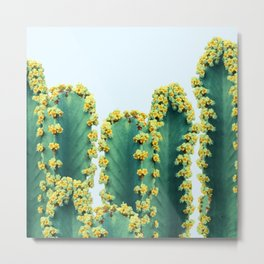 Adorned Cactus #society6 #artprints #buyart Metal Print