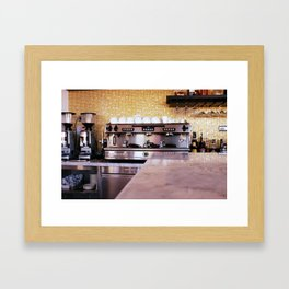 Let's Go For A Coffee Framed Art Print