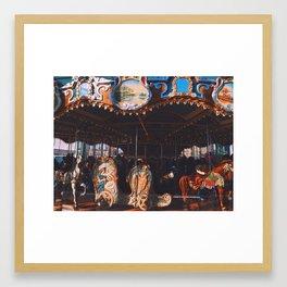 Jane's Carousel Framed Art Print