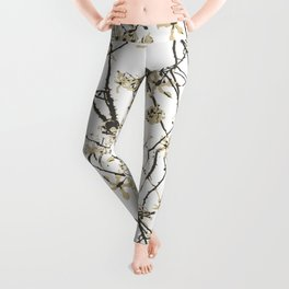 Nature Graphic Motif Pattern Leggings