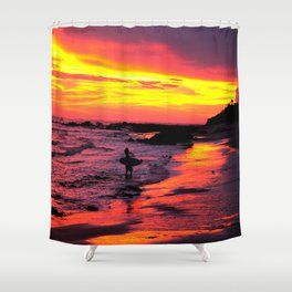 Day's End * Costa Rica Shower Curtain