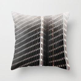 Heavy Steely Throw Pillow