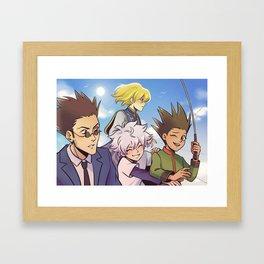 Departure! Framed Art Print