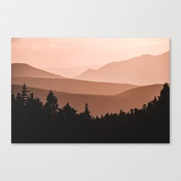 Lost in the Smoky Mountains Canvas Print