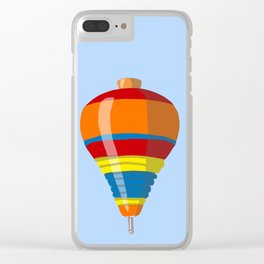 Colorful Top Clear iPhone Case