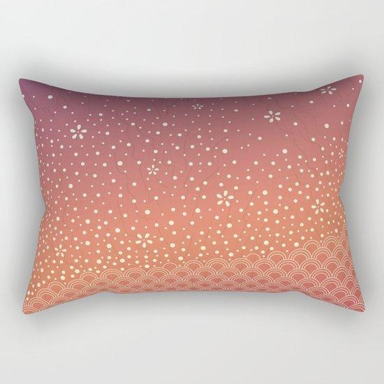 Spring Sunset Rectangular Pillow