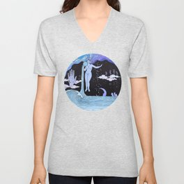 THE WATER MAGICIAN Unisex V-Neck