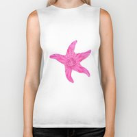 hawaiian Biker Tanks featuring Hawaiian Starfish by Teresa Chipperfield Studios