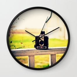 Brownie Kodak Camera Wall Clock