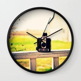 Brownie Kodak Camera Wall Clock