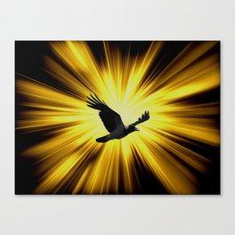 Quoth the Raven. Canvas Print