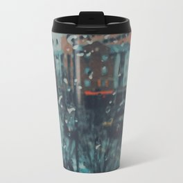 Rainy day out of focus Travel Mug