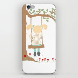 On the Swing, In the Tree iPhone Skin