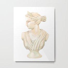 Goddess Diana Metal Print
