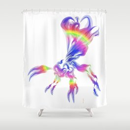 Ichnuemon 4 Shower Curtain