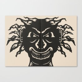 Extremely Sharp Teeth Canvas Print
