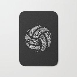 Volleyball Wordcloud - Gift Bath Mat