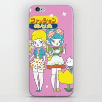 anime iPhone & iPod Skins featuring Retro Anime by Mel Stringer