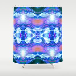 iDeal - Watercolor Blues Shower Curtain