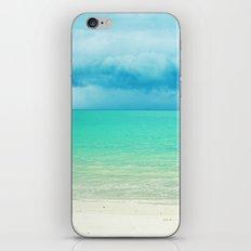 Blue Turquoise Tropical Sandy Beach iPhone & iPod Skin