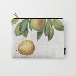 Pear (Pyrus butyra) from Pomona Italiana (1817 - 1839) by Giorgio Gallesio (1772-1839) Carry-All Pouch