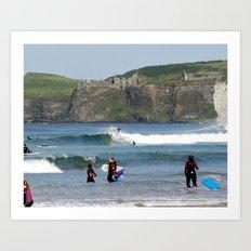 Surfs Up! 4 Art Print