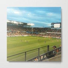 Houston Dynamo Soccer Metal Print
