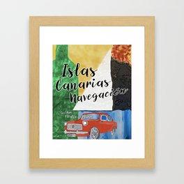 Islas Canarias 2019 Framed Art Print