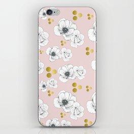 Spring Romance Minimalist Floral iPhone Skin